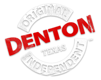 Logo for Discover Denton